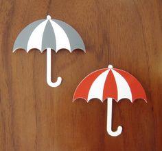 umbrella brooches