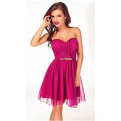 Rochie Amy Trendy Outfits, Fashion Outfits, Strapless Dress Formal, Formal Dresses, Attractive Girls, Corset, Glamour, Clothes For Women, Skirts