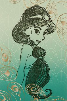 Disney Store: Art of Jasmine:)
