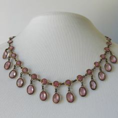 drop necklace