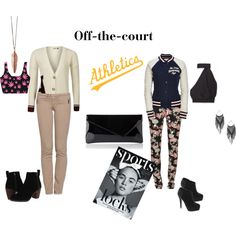 """""""Off -the-court"""" by lopez-cres on Polyvore"""