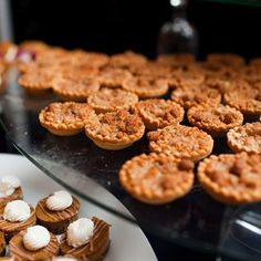Sweet Tooth Boston provided the guest with mini Dutch Apple Pies. They were a perfect fit for the rustic estate setting. Image Credits: Hitched Studios