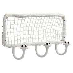 target.com - finally a 3 hook rail for Keaton's backpacks!