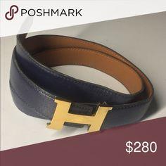 Vintage Hermes belt Vintage Hermes Reversible Belt from 70s Hermes Accessories Belts