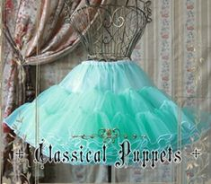 Couldn't get the taobao page to pin. Classical Puppets a-line petticoat 1. In white; one size. Taobao price: 17.95 usd
