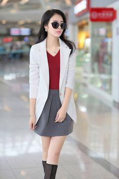 2014 Fall Elegant Korean Blazer Jacket YRB0280
