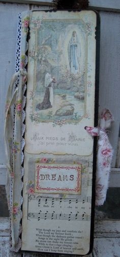 sweet dream journal by littlebeachdesigns, the printed music on it has nothing to do with why I like it. ;)