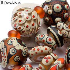 Romana Lampwork Beads on Ebay