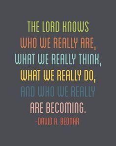 - David A. Bednar