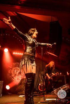 Floor Jansen of Nightwish in Chicago