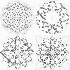 Discover recipes, home ideas, style inspiration and other ideas to try. Motifs Islamiques, Islamic Motifs, Islamic Art Pattern, Arabic Pattern, Geometry Pattern, Mandala Pattern, Paisley Pattern, Abstract Pattern, 3d Pattern