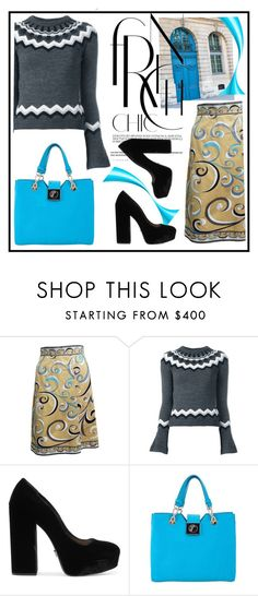 """Untitled #3845"" by julinka111 ❤ liked on Polyvore featuring Emilio Pucci, RED Valentino and Prada"