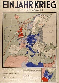 Ein Jahr Krieg 1940