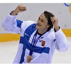 Teemu Selänne, another Finnish hockey player