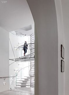 Eva Jiricna's UHPC Stairs for London's Somerset House