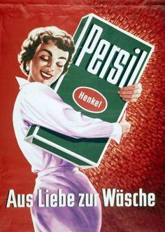 Persil-Werbung aus den 50er Jahren                                                                                                                                                                                 Mehr
