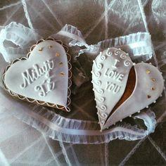 Honiees for Valentine's Day Valentýnské perníčky #gingerbread