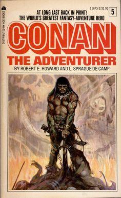 Conan the Adventurer by Robert E. Howard & L. Sprague de Camp