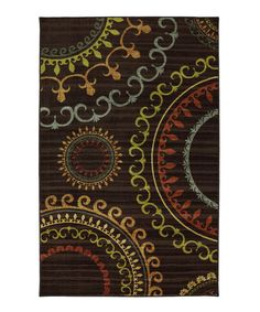 Look at this Mohawk Home New Suzani Panel Rug on #zulily today!