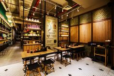 NamNam Noodle Bar by Metaphor Interior Architecture, Jakarta – Indonesia » Retail Design Blog