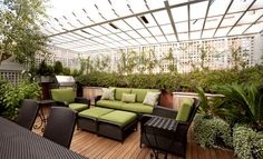 roof top garden - Buscar con Google
