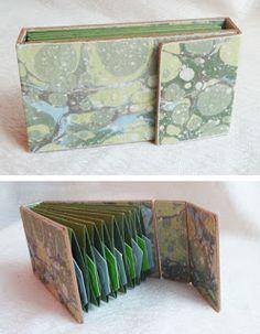 Expandable Pocket Binding. My Handbound Books - Bookbinding Blog