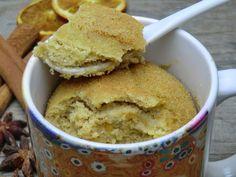 Mug-cake façon pain d'épices sans gluten et sans lactose (cuit à la casserole)