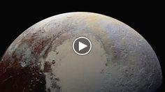 Le migliori immagini mai scattate della superficie di Plutone, registrate dalla navicella spaziale New Horizons durante il volo di avvicinamento...