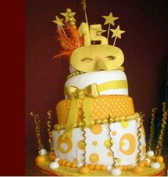Parties Cakes for Fifteen Years, Part 2