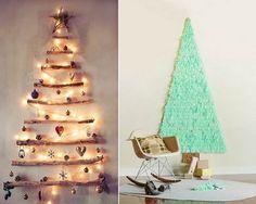 Amazing Wall Tree Christmas Decorations Pinterest Lights