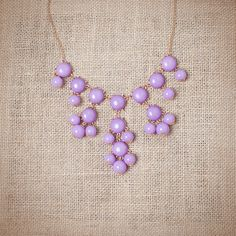 Mini bubble necklaces! These are fabulous for those of us who like the bubbles but want something a little more petite. Love! #urbanpeach #jewelry follow Urban Peach on Pinterest!