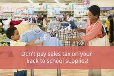 Save on Back-to-School Expenses by Ditching the Sales Tax