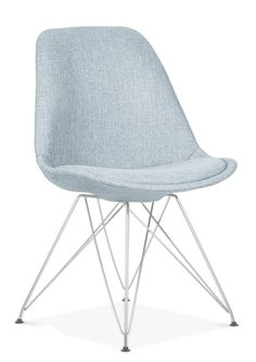 Finish: Upholstered seat with wood chrome or office frame width: 45 height: 83 length: 45 seat height: 46 Suede Fabric, Grey Fabric, Restaurant Specials, Charles & Ray Eames, Brown Suede, Chair, Dark Grey, Wood, Frame