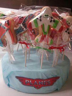 Disney planes cookies