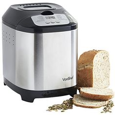 Bread maker with timer machines are a new concept for most of us. But if you are a bread lover, this machine might just become your best friend.