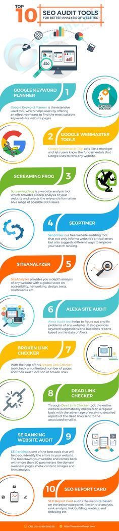 Top 10 SEO analysis tools that will help to achieve the better ranking of your website on search engine pages swiftly.