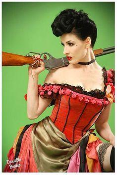 Dita Von Saloon Girl