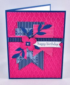 Snippets By Design: A Bold & Cheery Birthday Card