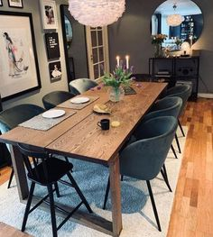 @josefine_aamodt My House, Conference Room, Interior Decorating, Dining Table, Rustic, Furniture, Robin, Lisa, Home Decor