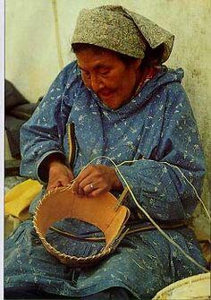 Alaska..my sister in law makes berch bark baskets!