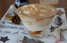 Coppa al mascarpone con pandoro e crema al caffè
