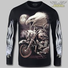 3d rock eagle biker printing