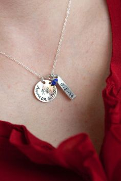 Mothers Day Gift  Personalized Necklace  by MotherDaughterJewel, $53.00