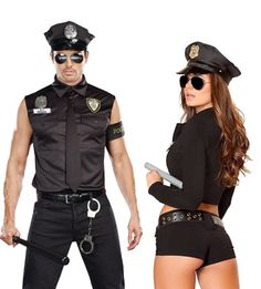 20+ Halloween Couple Costume Ideas That Are Super Cool - Police officers