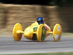 The Lotus Type 119c soapbox racer. The Type 119 B (2003) was a previous iteration of the Lotus Soapbox design.