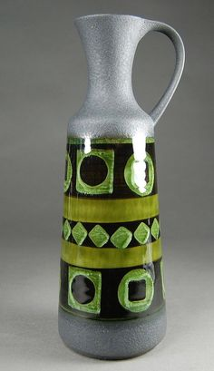 West German pottery.