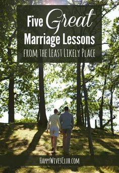 5 Great Marriage Lessons from the Least Likely Place