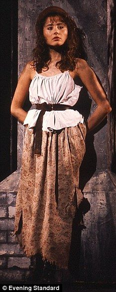 Eponine's costume from the musical LES MISERABLES