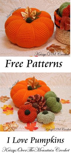 Amigurumi Crochet This crochet pattern will help you make those beautiful big pumpkins! I was nervous about making a big pumpkin, but I conquered my fear and found out how to make those adorable dents! Crochet Pumpkin, Crochet Fall, Halloween Crochet, Unique Crochet, Cute Crochet, Crochet 101, Crochet Gifts, Crochet Toys, Crochet Pouch