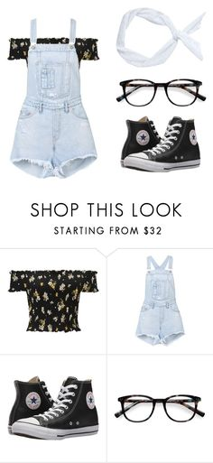 """V.G.K. #082"" by julietxmontague on Polyvore featuring Mode, Miss Selfridge, Off-White, Converse, EyeBuyDirect.com und modern"